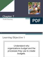 Chap007 -Profit Planning