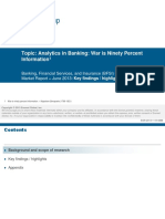 Analytics in Banking Detailed Preview 2013