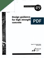 TR 49-High Strength Concrete