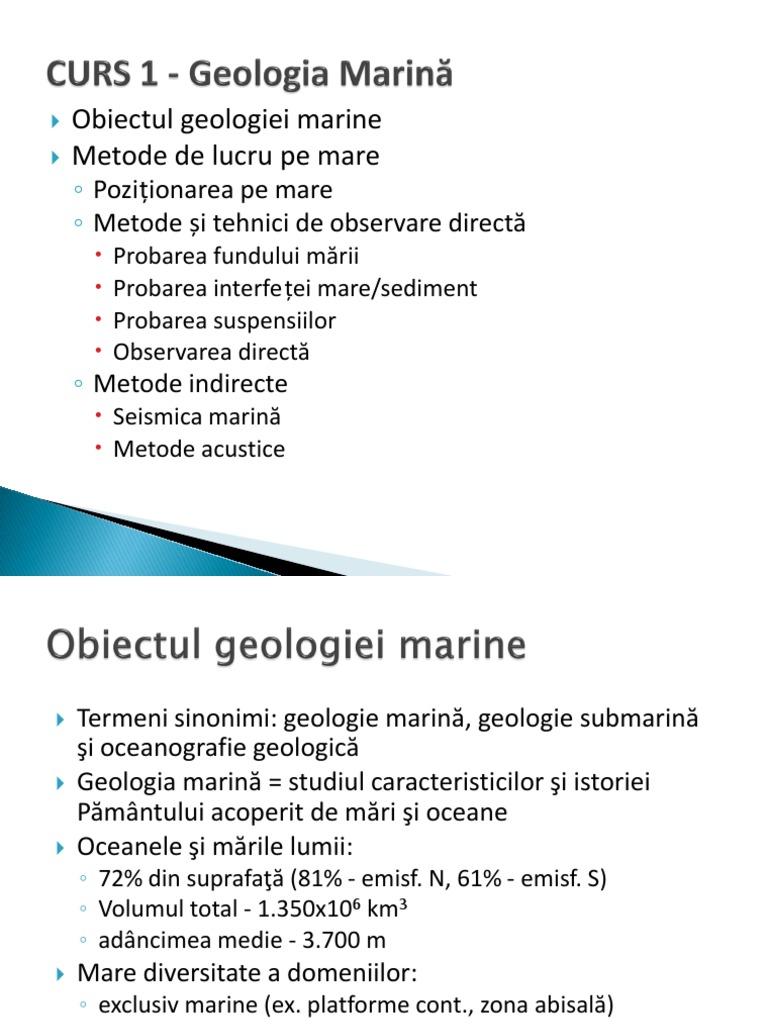 geologie metode de date