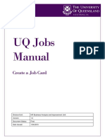 Create a Job Card