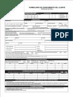 Formulario Conocimiento Cliente - PERSONAS NATURAL (May2013)1