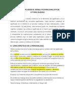 Definicion de Personalidad Según Vittorio Guidano