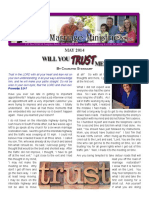 WILL YOUTRUSTME_ - Rejoice Ministriesnewsletter_may_2014