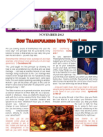 Sow Thankfulness Into Your Life - Rejoice Ministriesnewsletter_november_2013