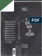 A quien mata el asesino - Silvia Tendlarz y Carlos García.pdf
