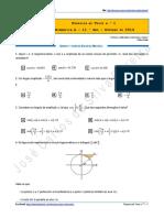 Proposta de Teste n.º 1 - Matemática a - 11.º Ano - Outubro de 2014
