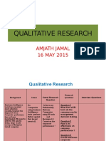 Quali Research Ass 16 May 15