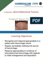 STFM Trauma Curriculum Blunt-Abdominal-Trauma