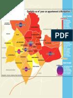 Carte prix du logement