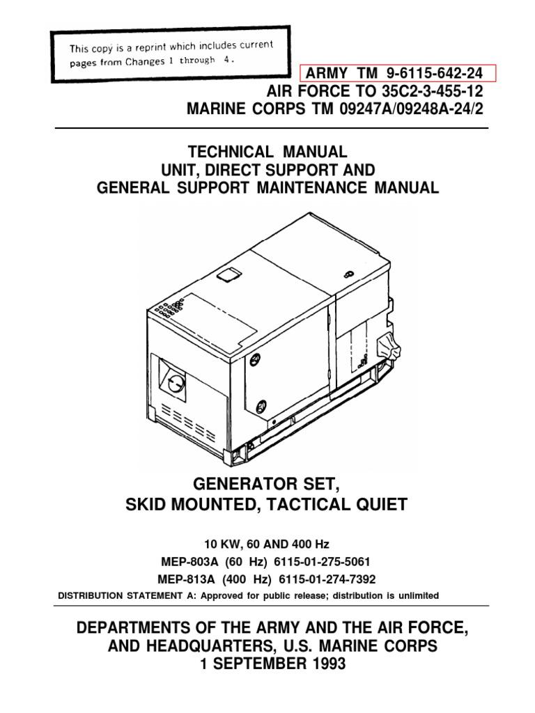 1512155495?v=1 mep 803a mep 813a technical manual tm 9 6115 642 24 pdf relay mep 803a wiring diagram at webbmarketing.co