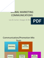 Global CommunicationPromotion Strategies