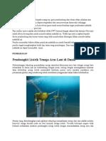 Makalah Pembangkit Listrik Tenaga Arus Laut