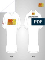 Brigada Eskwela 2016 Shirt