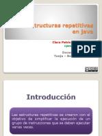 Estructuras Repetitivas Java