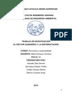IMPACTO AMBIENTAL DE LA  GANADERIA EN EL PERU