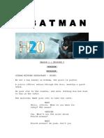 h20 the Batman 2