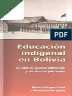 educación Indigenal en Bolivia
