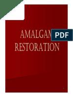 6 Amalgam Restoration and Class1