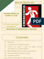 1. Psicología en Emergencias y Desastres