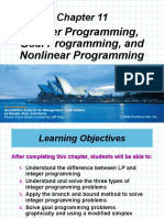 Goal Programming maths