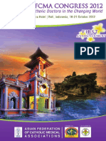 The 15th AFCMA Congress 2012 in Bali