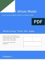 part- part whole presentation math lesson 1