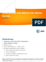 2015 It Can Wait Report_Smartphone Use Behind the Wheel