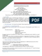 CR Conseil d Ecole 03 05 16