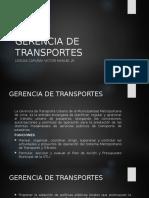 Gerencia de Transportes