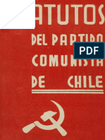 Estatutos Del Partido Comunista (PCchile)