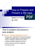 9. Chapter 9 How to Prepare a Case