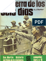 [Editorial San Martin - Campañas nº 6] La guerra de los seis días [Spanish e-book][By alphacen].pdf