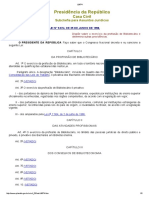 Lei n. 9.674 - Profissional Bibliotecário