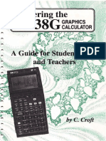 Mastering the HP38G Graphics Calculator