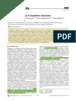 A Fundamental Study of Asphaltene Deposition