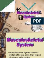 Musculoskeletal c