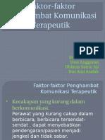 Faktor-faktor Penghambat Komunikasi Terapeutik (123)