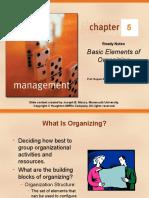 Cgapter 05 Basic Elements of Organizing