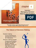 CHAPTER 04 Managing Decision Making and Prob