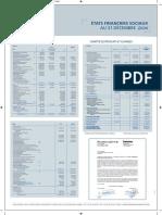 Comptes Sociaux SMI Au 31 Décembre 2011
