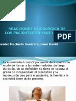 Reacciones Psicológica de Los Pacientes en Fase Crónica