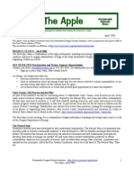 The Apple Newsletter, April 2006, Sustainable School News