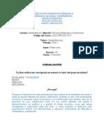 Coevaluación (Proyecto II) 14-05-2016