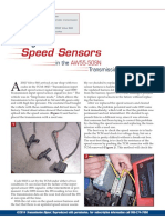 Aw55 50sn Testing Speed Sensors