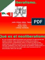 Noeliberalismo Historia COBA 28.