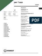 Indesit FI 20.B IX Oven