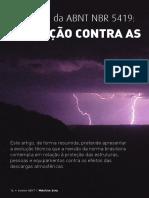 A Revisão Da ABNT 5419 - Proteção Contra as Descargas Atmosféricas