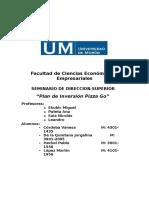 Plan de Inversión Pizza Go
