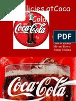 HR Policies of Coca Cola by Faraz Shahid